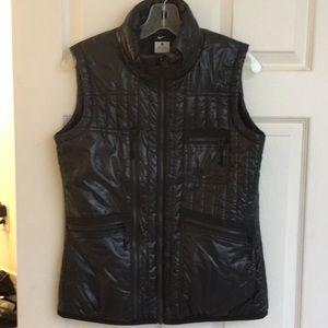 Nike Primaloft black shiny athletic vest